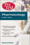 Pharmacology: Pre Test self-assessment and review