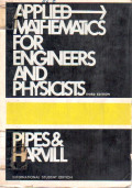 Applied Mathemathics For Engineers And Physicists