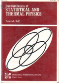 Fundamentals Of : Statistical And Thermal Physics