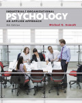 Industrial / Organizational Psychology : an applied approach