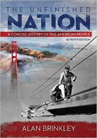 Image of The Unfinished nation : a Concise Histoey of The American People